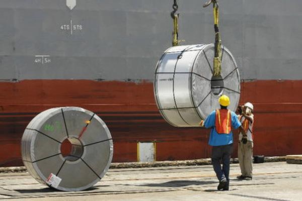 صادرات فولاد میانه